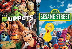 Sesame Street and The Muppets