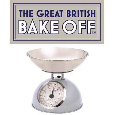 The Great British Bake Off Kitchen Scales Blue