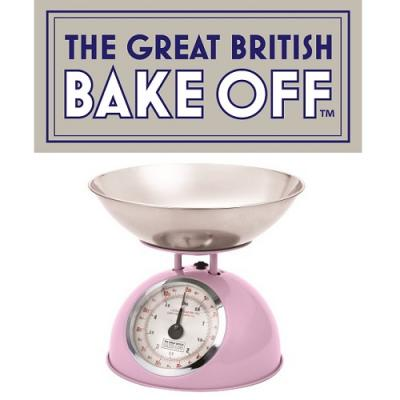 The Great British Bake Off Kitchen Scales Pink