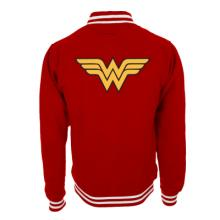 WONDER WOMAN LGO RED COLLEGE JACKET