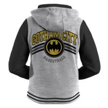 DC ZOODIE- GOTHAM BASKETBALL - GREY & BLACK
