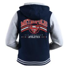 DC - METROPOLIS ATHLETICS ZOODIE - NAVY & GREY