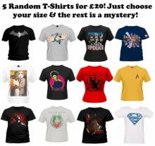 The £20 Mystery T-Shirt Bundle!