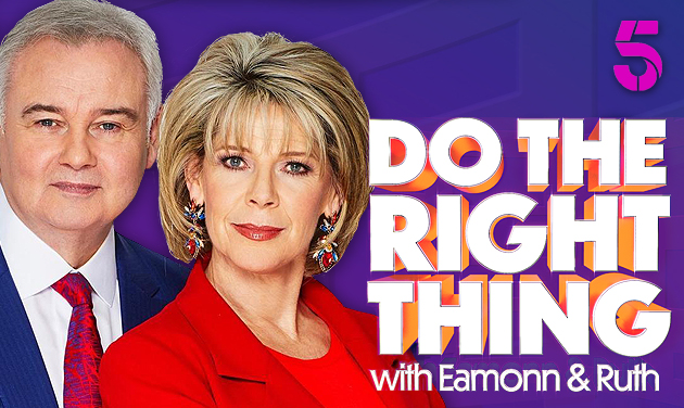 Book Tickets For Do The Right Thing with Eamonn & Ruth 2019