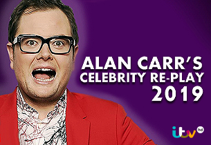 Alan Carrs Celebrity Re-Play 2019
