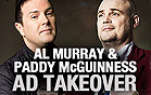 Al Murray & Paddy McGuinness Ad Takeover