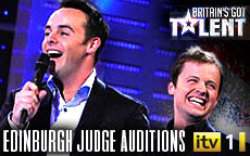 BRITAINS GOT TALENT 2012 - EDINBURGH