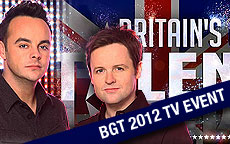 BRITAIN'S GOT TALENT 2012 TV EVENT - ITV1