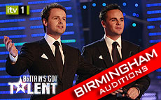 BRITAINS GOT TALENT 2011 - BIRMINGHAM