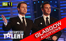 BRITAINS GOT TALENT 2011 - GLASGOW