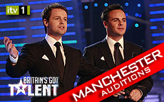 BRITAINS GOT TALENT 2011 - MANCHESTER