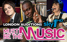 MUST BE THE MUSIC LONDON - SKY1