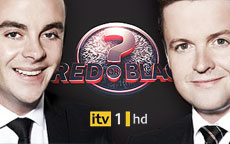ANT & DECs RED OR BLACK? 2012 - ITV1