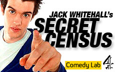 JACK WHITEHALL's SECRET CENSUS