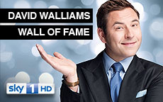 DAVID WALLIAMS WALL OF FAME - SKY1
