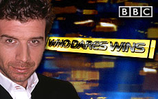 NICK KNOWLES WHO DARES WINS - BBC