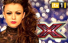 THE X FACTOR FINAL - CHER LLOYD WORCESTERSHIRE